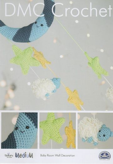 DMC Crochet Pattern BABY ROOM WALL DECORATION